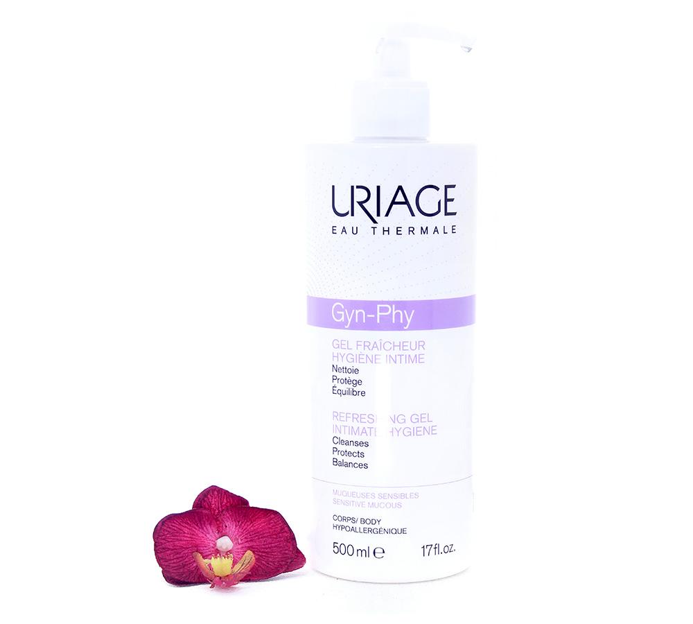 3661434005886 Uriage Gyn-Phy Intimate Hygiene - Refreshing Cleansing Gel 500ml
