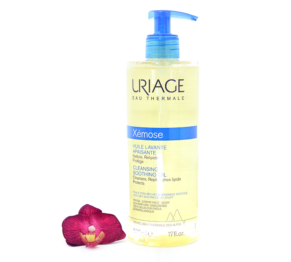3661434005923 Uriage Xémose - Cleansing Soothing Oil Very Dry Skin 500ml
