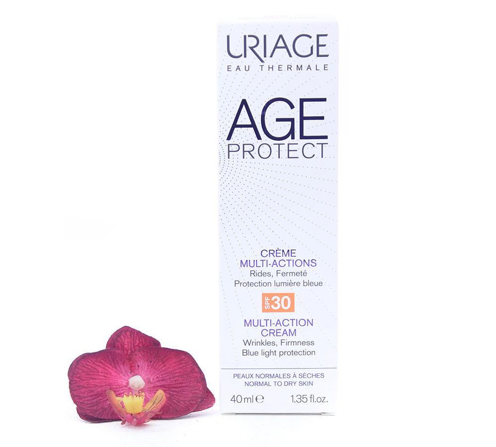 3661434006418-cream Uriage Age Protect Multi-Action Cream SPF30 40ml