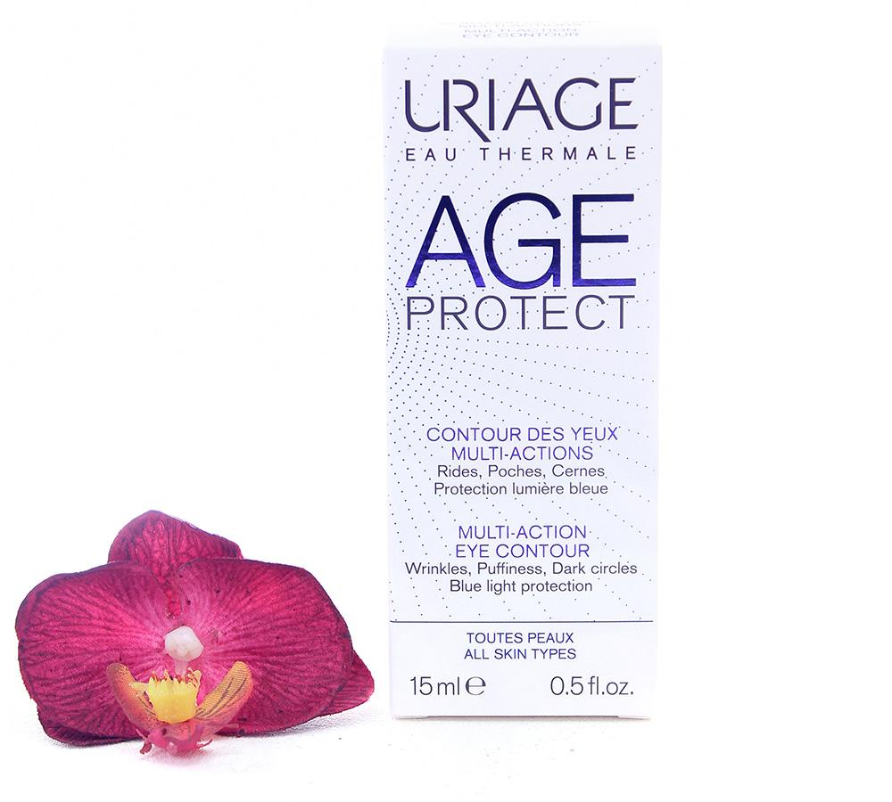 3661434006432 Uriage Age Protect - Multi-Action Eye Contour 15ml
