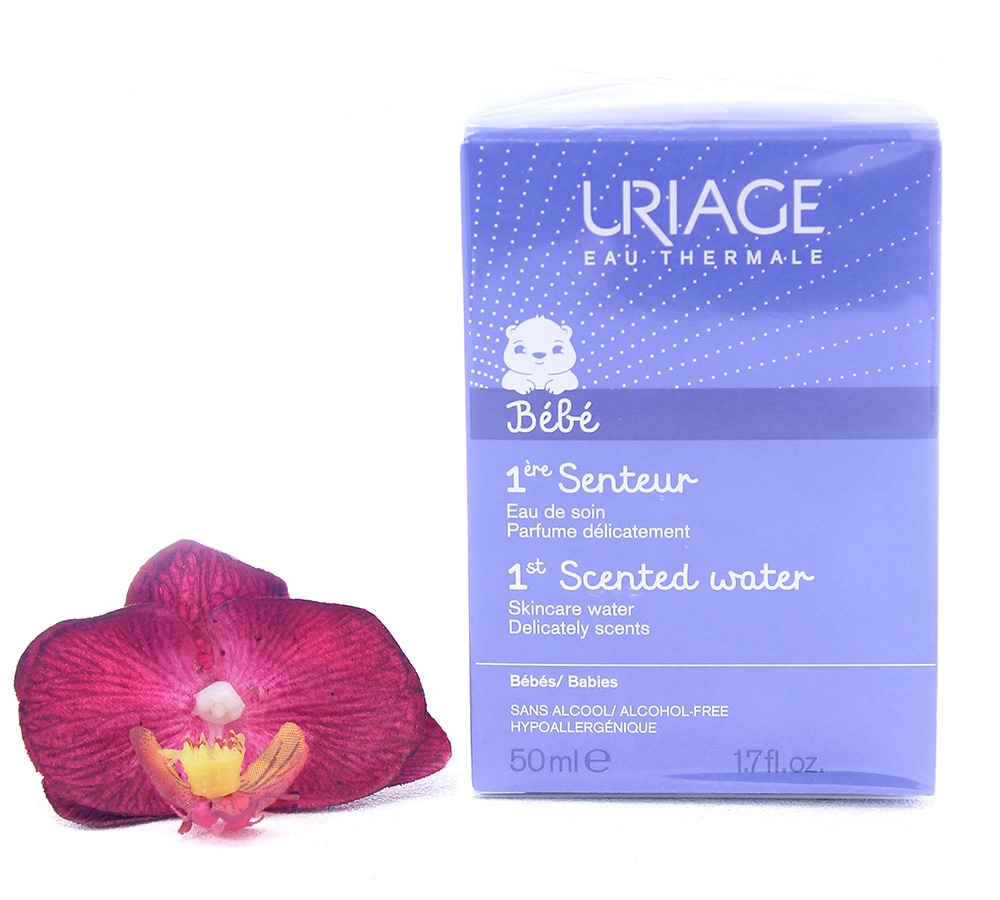 3661434006654 Uriage Bébé 1st Fragrance - Fragranced Skincare Water 50ml