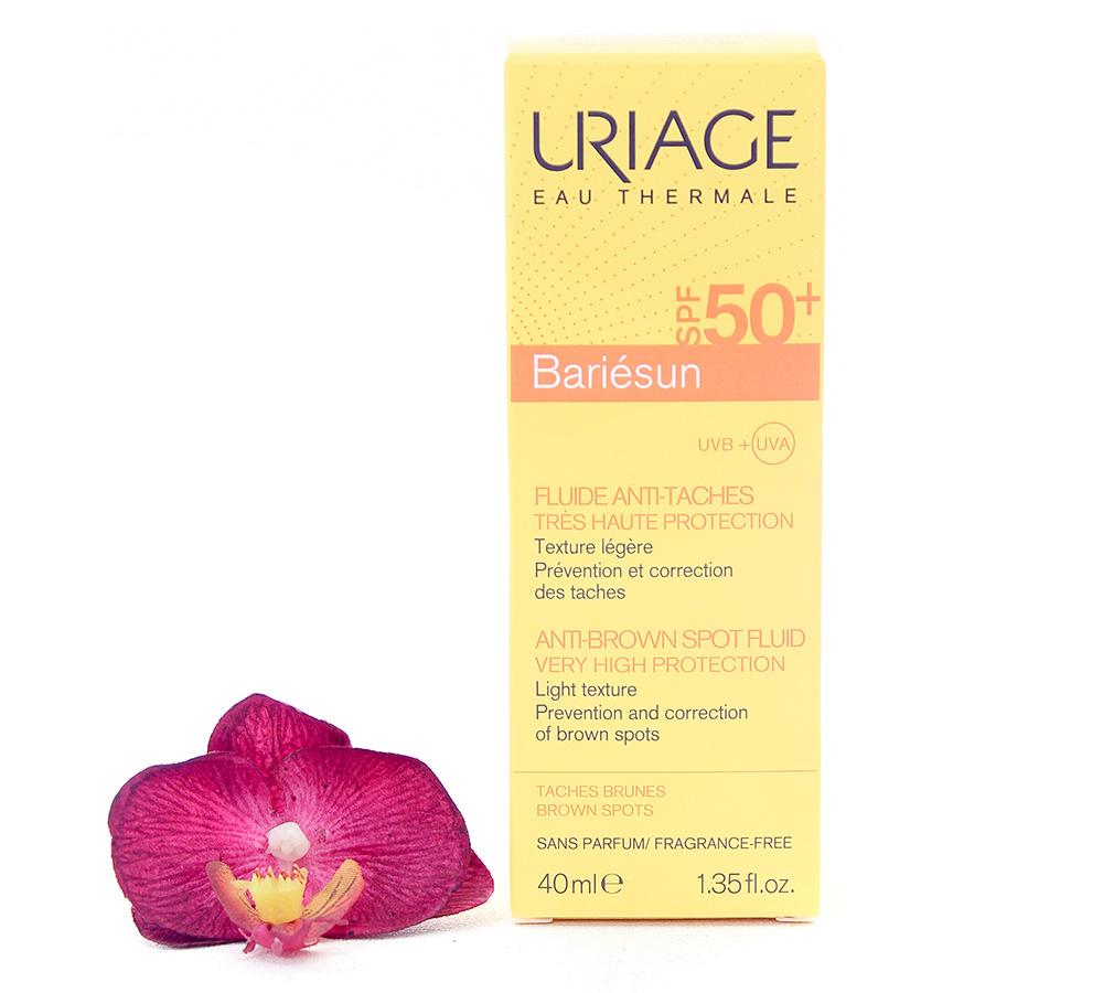 3661434007330 Uriage Bariésun - Anti-Brown Spot Fluid SPF50+ 40ml