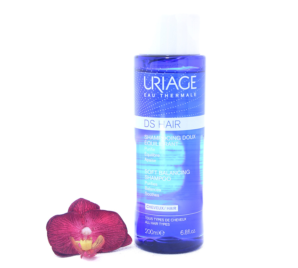 3661434007408 Uriage DS Hair - Soft Balancing Shampoo 200ml