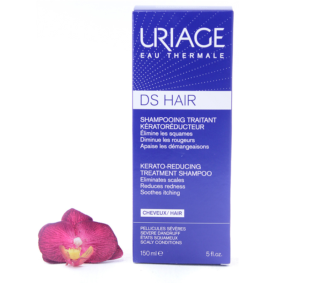 3661434007422 Uriage DS Hair - Kerato-Reducing Treatment Shampoo 150ml