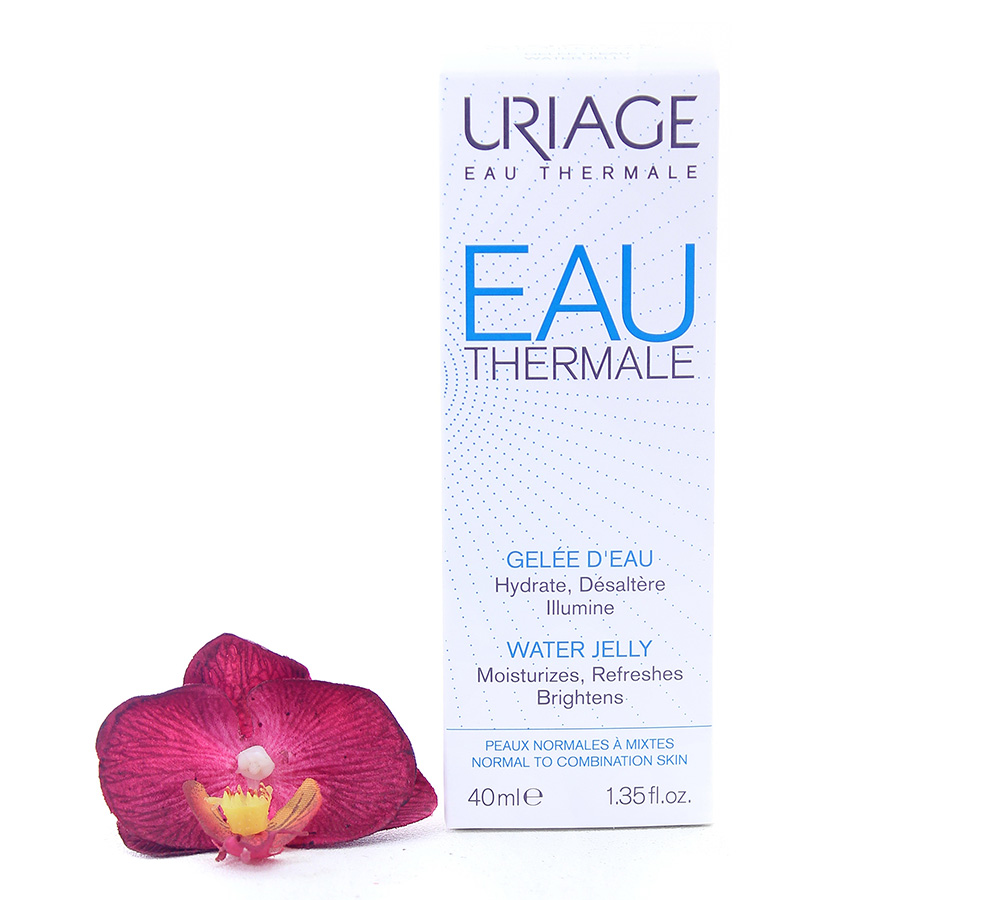 3661434007835 Uriage Eau Thermale Water Jelly - Hydrating And Protecting Cream 40ml
