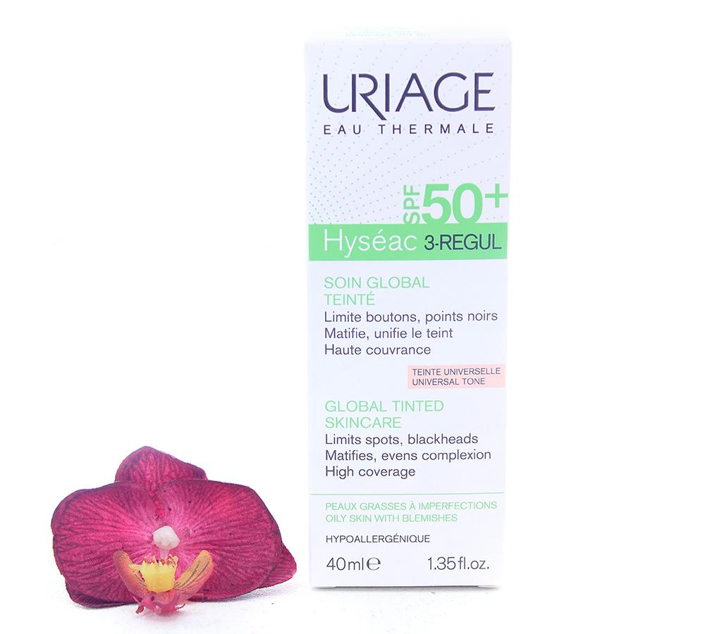 3661434007859 Uriage Hyséac 3-Regul Global Tinted Skin-Care Spf50+ 40ml