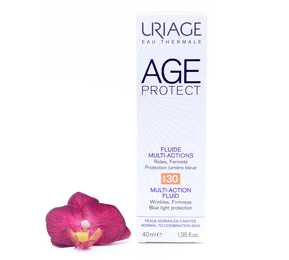 3661434008054-fluid Uriage Age Protect Multi-Action Fluid SPF30 40ml