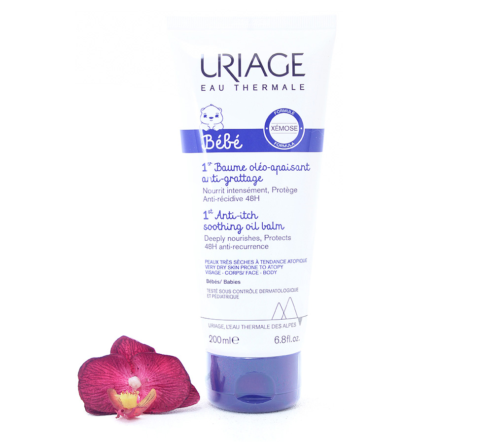 3661434008139 Uriage Bébé 1st Anti-Itch Soothing Oil Balm 200ml