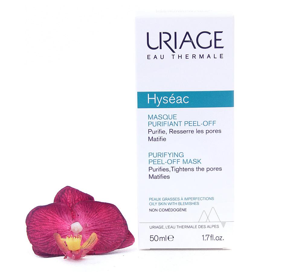3661434008283 Uriage Hyséac Purifying Peel-Off Mask 50ml