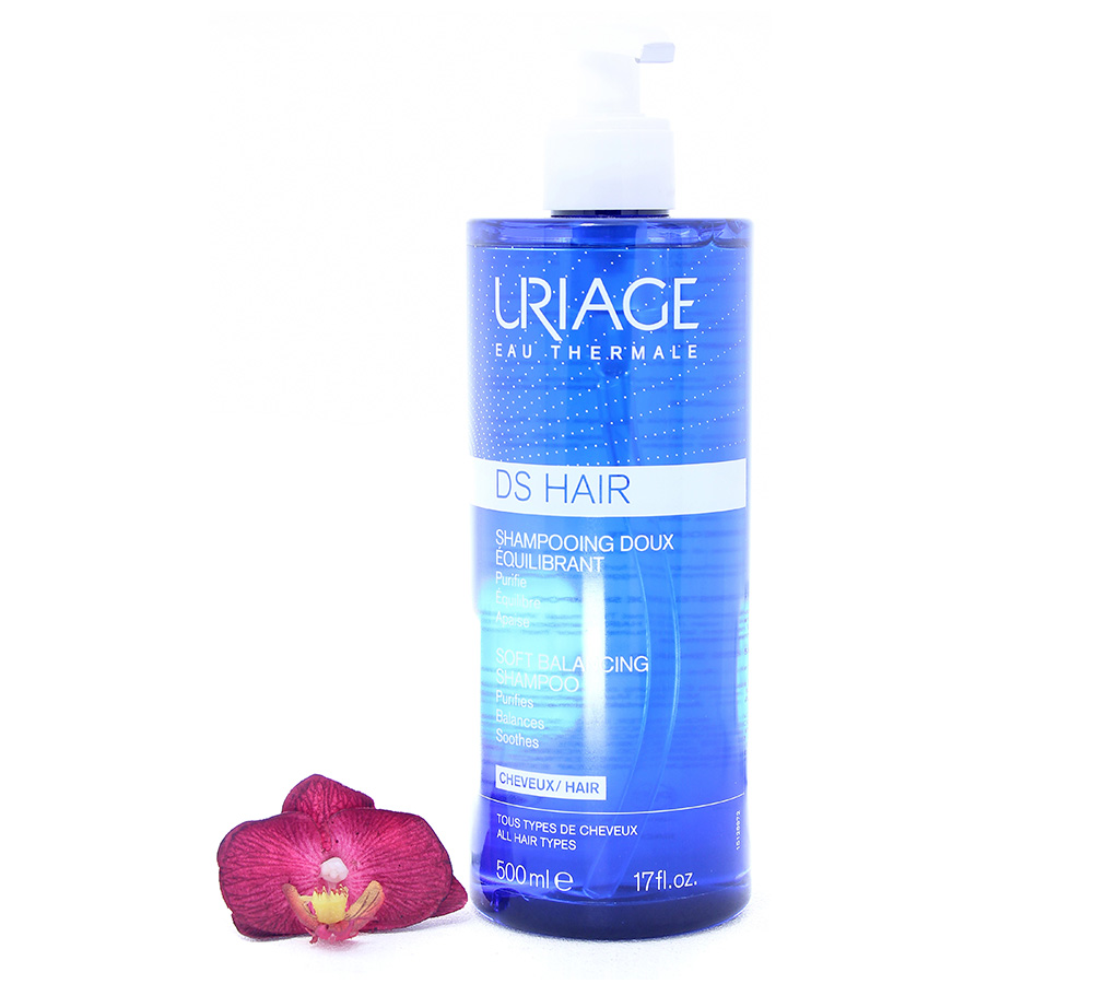 3661434011962 Uriage DS Hair - Soft Balancing Shampoo 500ml