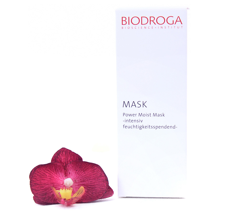 45576 Biodroga Mask - Power Moist Mask Intense Moisture 50ml
