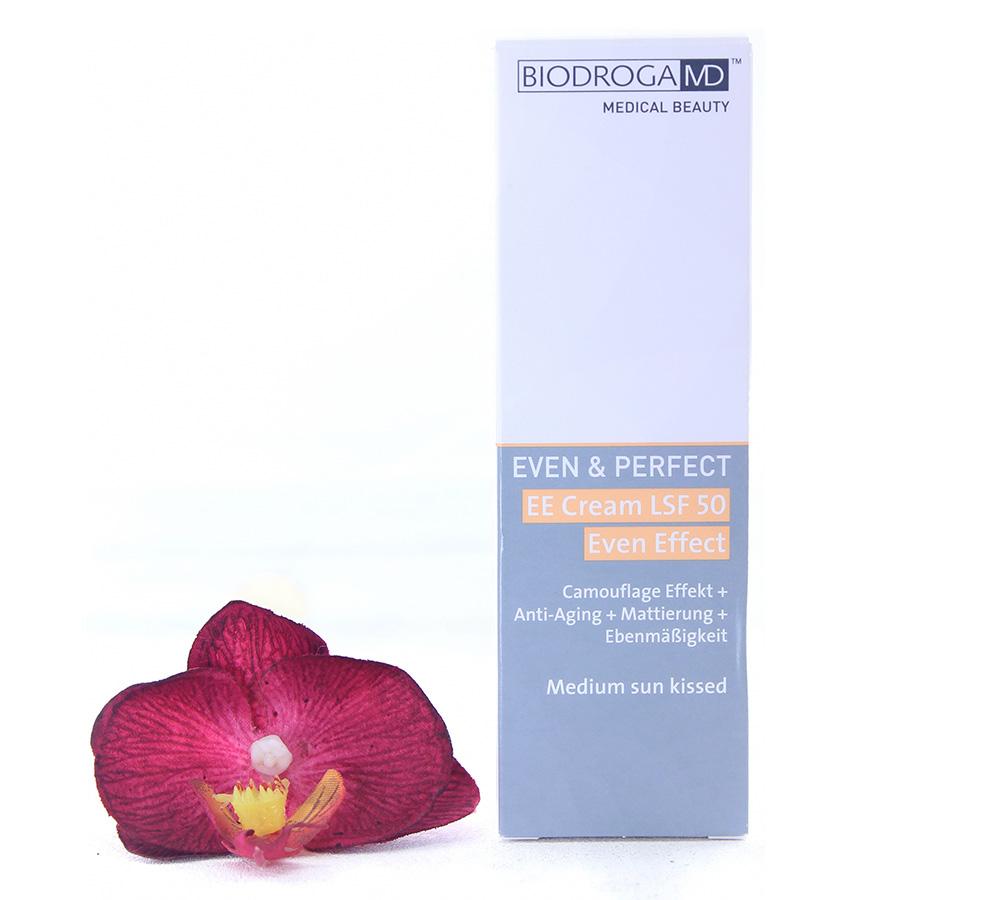 45772_2 Biodroga MD Even & Perfect - EE Cream LSF50 Even Effect - Medium Sun Kissed 40ml