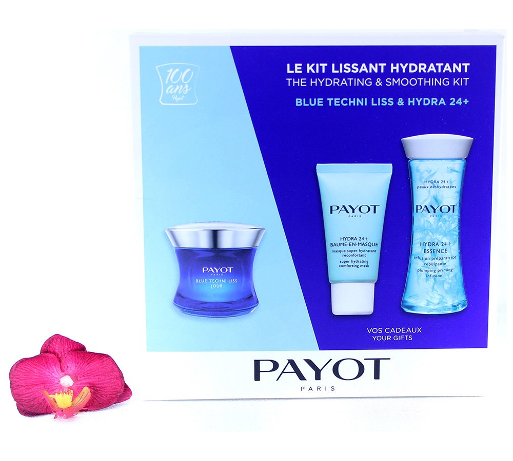 65117315 Payot Blue Techni Liss & Hydra 24+ The Hydrating And Smoothing Kit