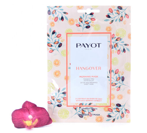 65117339-510x459 Payot Hangover Morning Mask Detox And Radiance Sheet Mask 1 mask