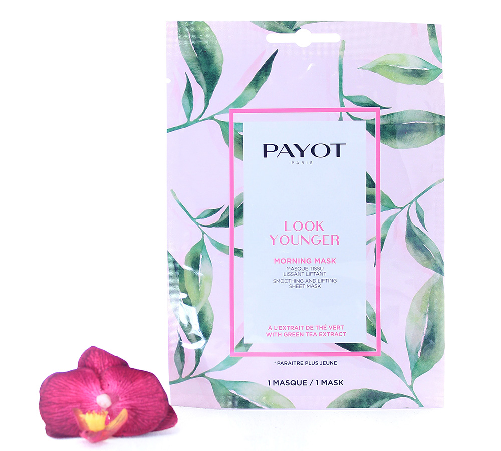 65117340 Payot Look Younger Morning Mask Smoothing And Lifting Sheet Mask 1 mask