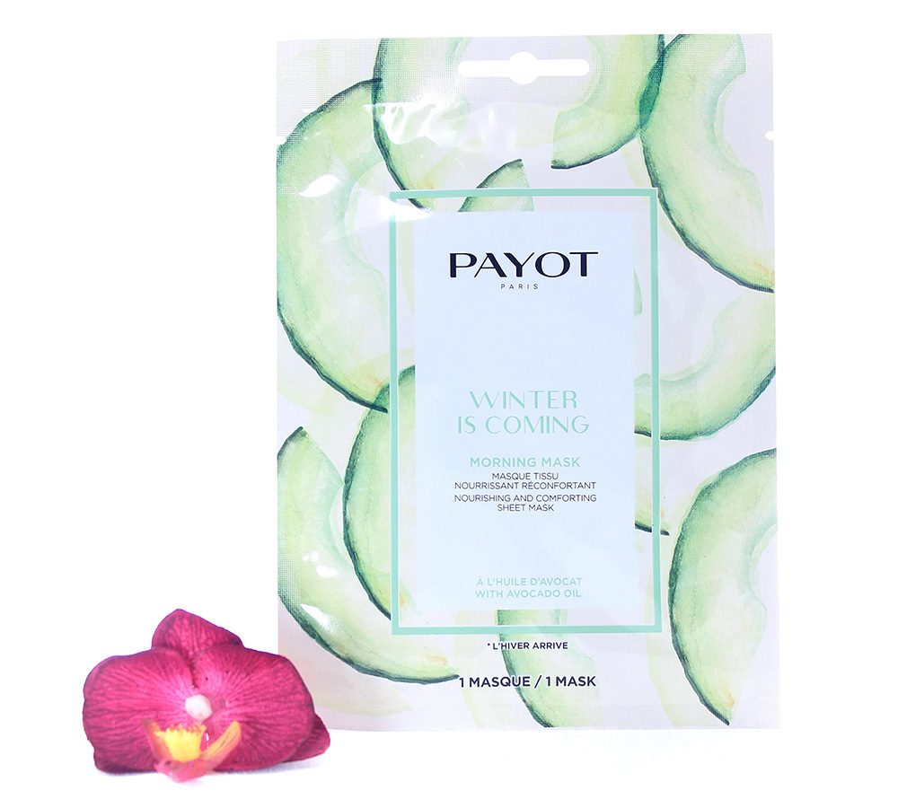 65117341 Payot Winter Is Coming Morning Mask Nourishing And Comforting Sheet Mask 1 mask