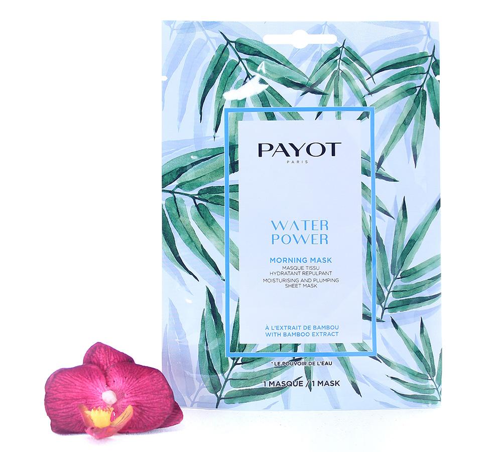 65117342 Payot Water Power Morning Mask Moisturising And Plumping Sheet Mask 1 mask
