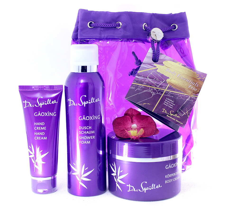 992220 Dr. Spiller Gaoxing Set - Body Essentials Trio