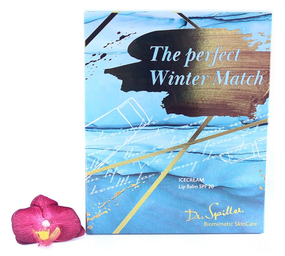 992320 Dr. Spiller The Perfect Winter Match - Icecream & Lip Balm Set