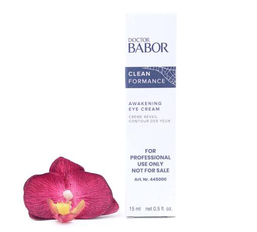 445000-510x459 Babor Clean Formance - Awakening Eye Cream 15ml