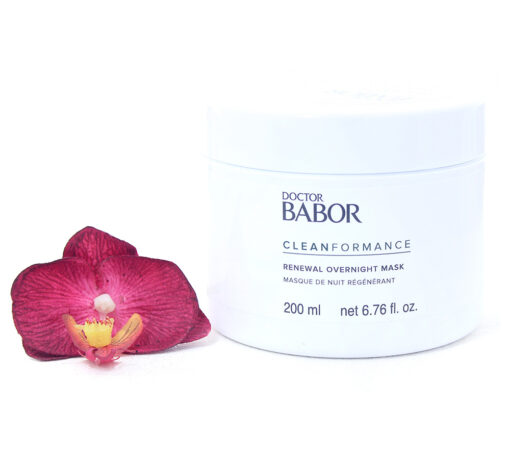 445012-510x459 Babor Clean Formance - Renewal Overnight Mask 200ml