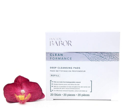 445013-510x459 Babor Clean Formance - Deep Cleansing Pads Refill 20pcs
