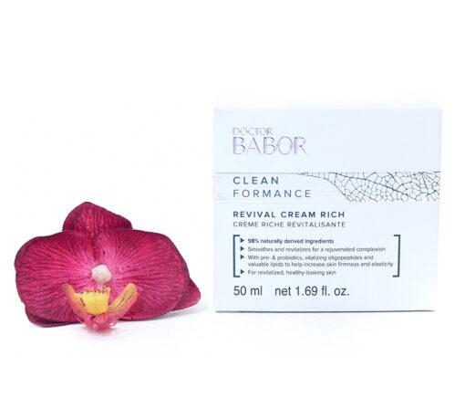 480070-510x459 Babor Clean Formance - Revival Cream Rich 50ml