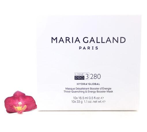 19002515-510x459 Maria Galland 3-280 Hydra'Global - Quenshing And Energy Boosting Mask 10pcs