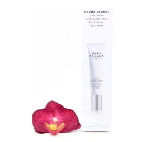 19002463-510x459 Maria Galland 250 Hydra Global - Eye Contour Gel Cream 15ml